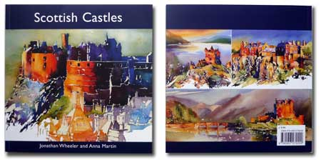 Scottish Castles book front and back cover